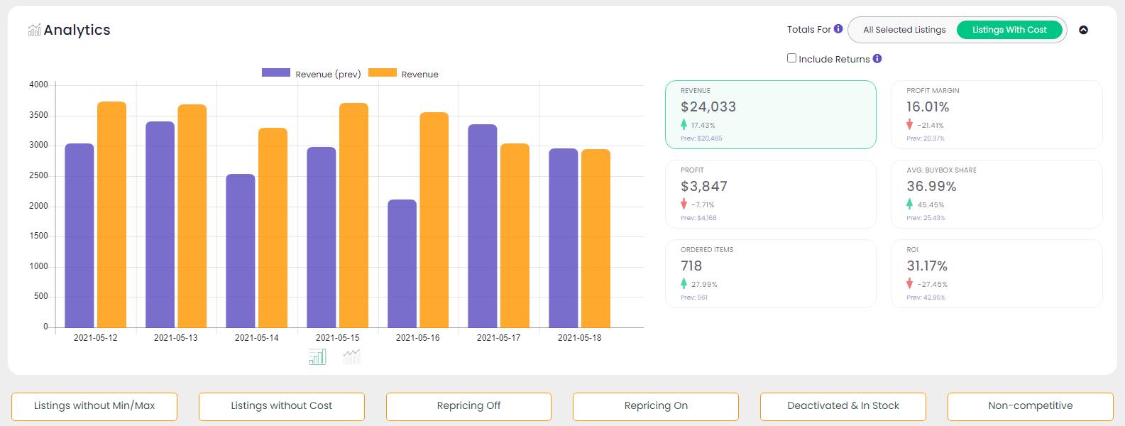 sellersnap-analytics-dashboard